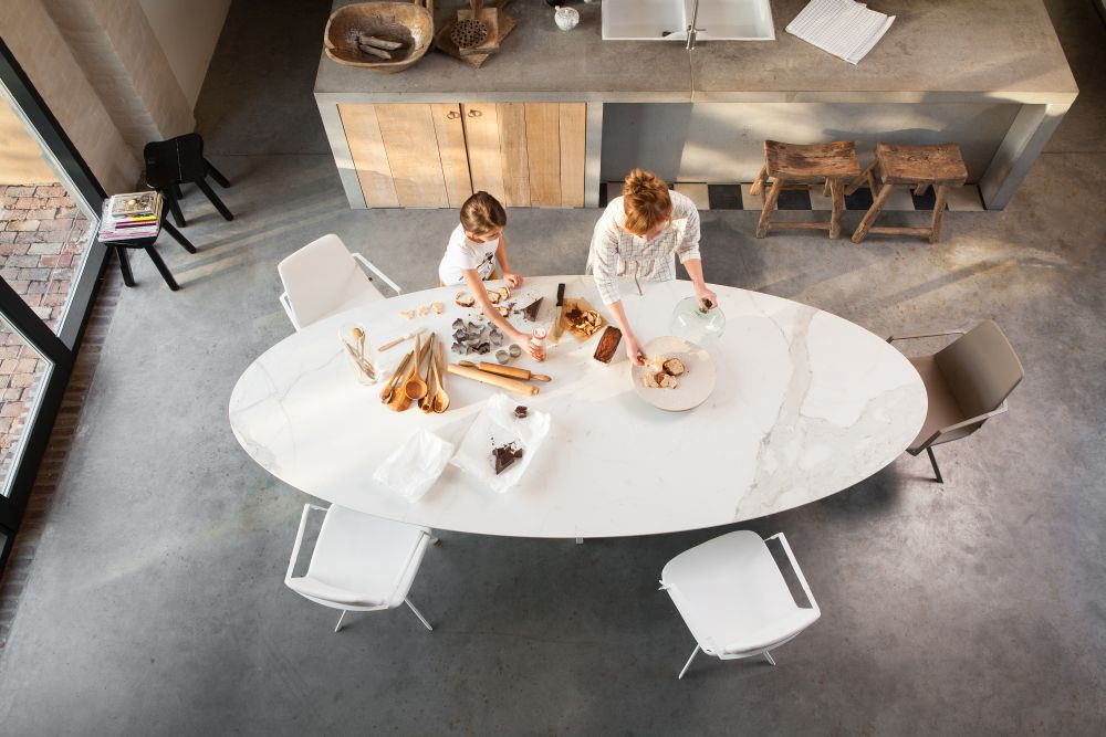 Eetkamer tafel Joli Elyps